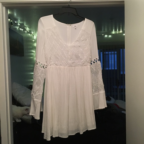 Lucca Couture Dresses & Skirts - NEVER BEEN WORN White mini dress